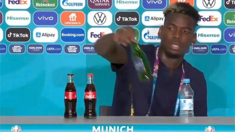 Pogba imitó a Cristiano y ahora tiembla una marca de cerveza