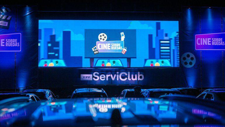 El autocine de YPF ServiClub llega a Neuquén