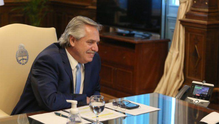 Alberto Fernández no descarta el regreso del IFE   Foto: @alferdez (Vía Twitter)