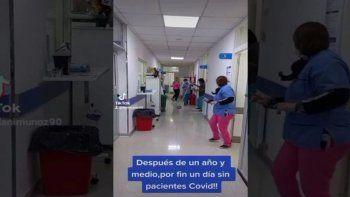 el hospital que festejo con un baile no tener pacientes con covid