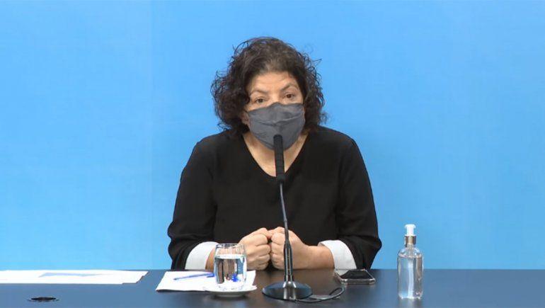 Vizzotti aseguró que debate los penes de madera visibiliza la necesidad de ESI