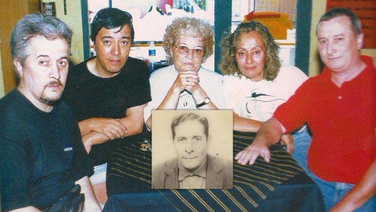 Familia de Cándido Pérez.
