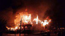 chile: lios en protestas por crimen de un malabarista