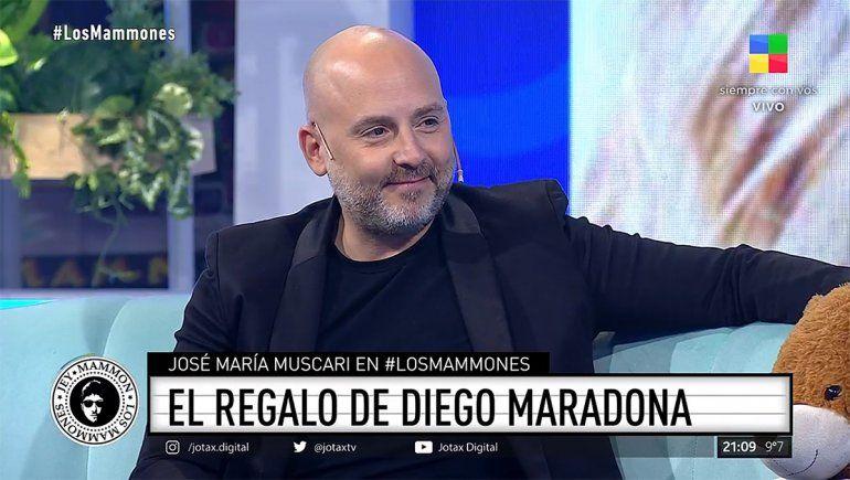 Muscari recordó a Diego: Uno no sabe realmente lo que significa hasta que aparece