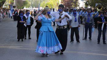 Centenario festejó el aniversario con desfiles y anunciaron obras