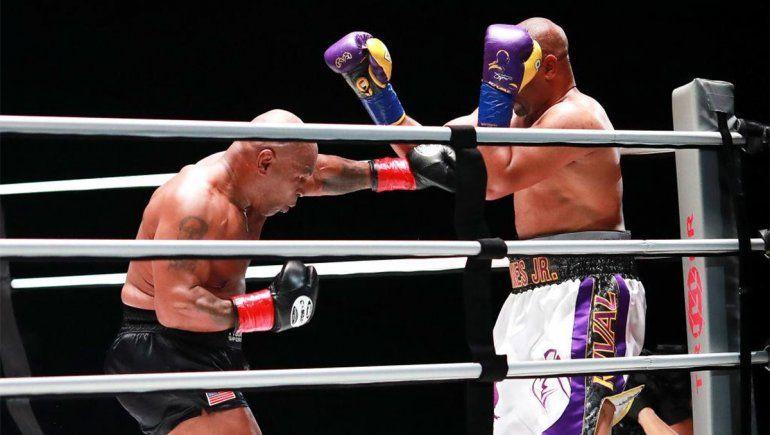 Tyson y Jones se lucieron arriba del ring y quedaron con ganas de más: Hay que hacerlo otra vez