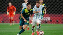 argentina perdio con australia en el debut de los juegos olimpicos