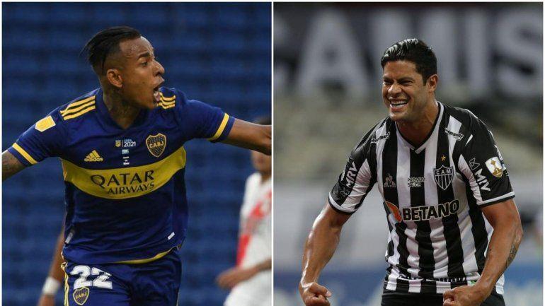 Boca, sin el rebelde Cardona, inicia los octavos ante Mineiro: hora y TV