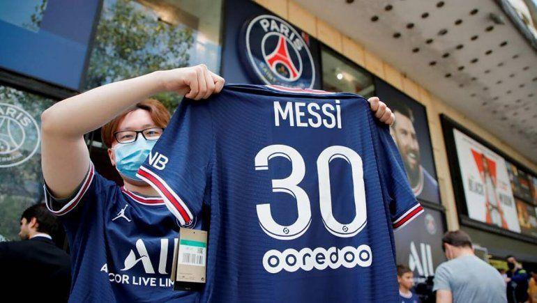 Se prohibió la camiseta de Messi para el partido entre PSG y Brest