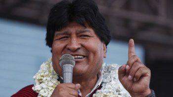 Evo Morales sale del hospital tras superar el Covid-19
