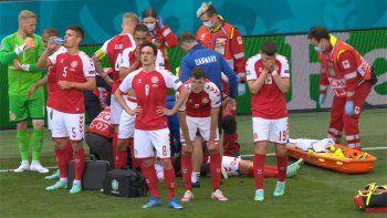 Dramatismo en la Euro: jugador de Dinamarca se desplomó por un infarto
