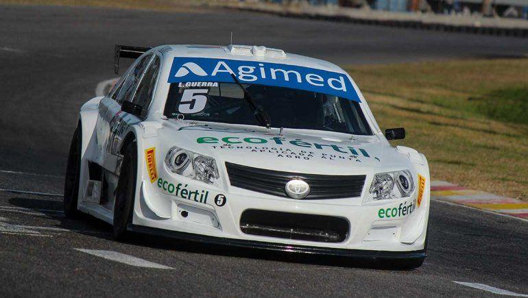 Lucas Guerra comenzó adelante en la cuarta fecha del Top Race en Buenos Aires