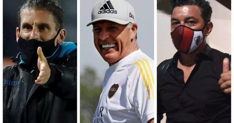 Hora, TV y probables formaciones de River, Racing y Boca para la Copa