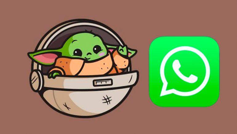 WhatsApp: celebra el día de Star Wars con stickers de Baby Yoda. | Foto referencial. Cortesía.