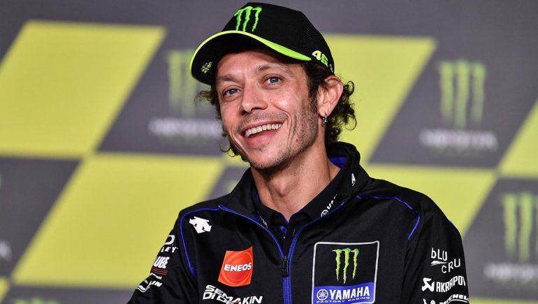 Valentino Rossi vuelve a dar positivo a covid-19