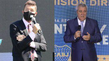 video: la grosera y polemica respuesta del traidor tinelli a boca en su programa