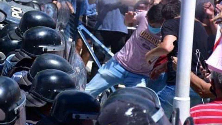 Formosa dice que la protesta no fue nada pacífica