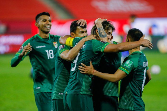 Cinco positivos en la selección boliviana, entre ellos su estrella