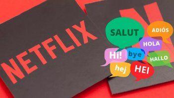 Aprendé otro idioma gracias a Netflix
