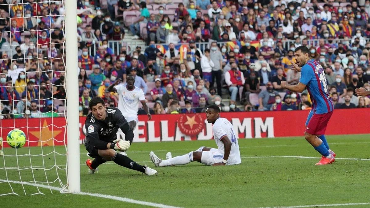 el primer gol del kun agüero y el desconcierto del barcelona en el primer clasico sin messi