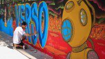 con una ordenanza diferencian el arte callejero con el vandalismo