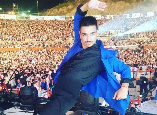 El bailarín de Centenario, Matías Garrido.