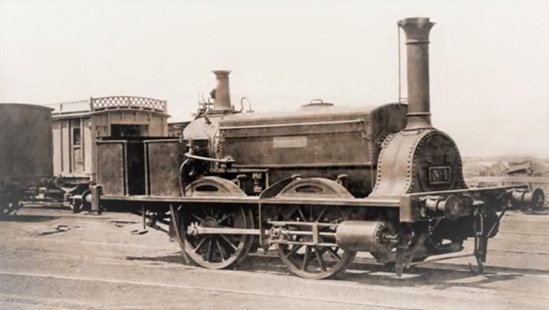 La Locomotora La Porteña.