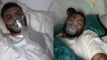 La foto de Mauro Icardi con máscara de oxígeno que alarmó a sus seguidores