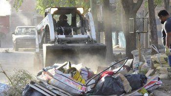 levantaron 2300 kilos de residuos voluminosos en gran neuquen sur