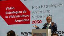 fernandez: ojala hagamos que el plan estrategico genere mas y mejor vino