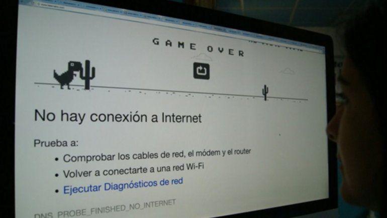 Qué dijo la prestataria sobre el nuevo corte de internet en la región