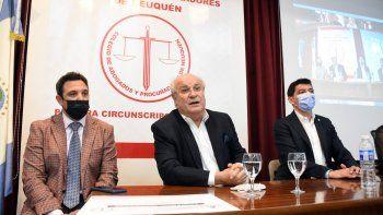 El Colegio de Abogados presentó el primer Tribunal de Arbitraje
