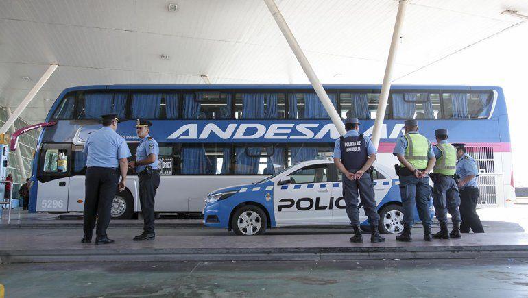 Esta mañana murió una pasajera en la Terminal de Ómnibús de Neuquén