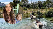 con 5 anos, la hija de zaira nara es una experta en cabalgatas en san martin