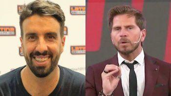 Azzaro y Vignolo, dos periodistas vinculados al fútbol desde lugares diferentes.