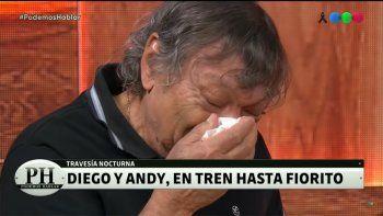Galíndez se mostró destrozado en PH y las redes explotaron contra Andy