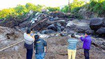 el salvador: deslave deja 6 muertos y 35 desaparecidos