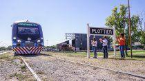 vecinos de plottier piden la extension del tren a china muerta