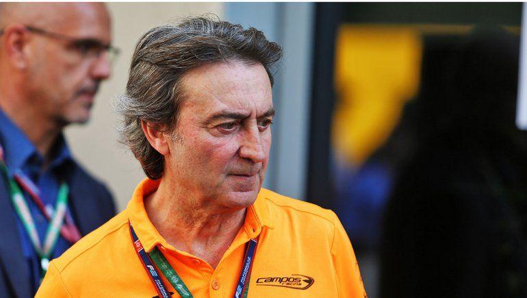 Adrián Campos fue un expiloto español que metió a Fernando Alonso en el mundo de la Fórmula 1
