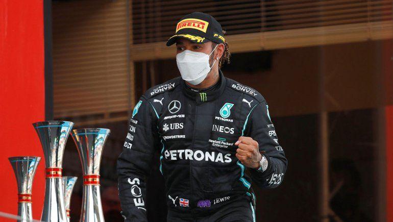 Hamilton dejó claro que su intención es renovar con Mercedes en la Fórmula 1