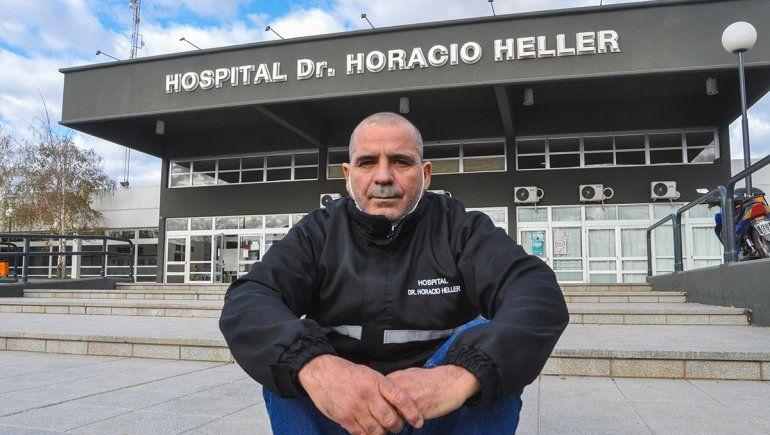 El compromiso de Juan con los pacientes COVID en el Hospital Heller