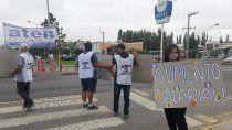 en su segundo dia de paro, aten protesta en las rutas