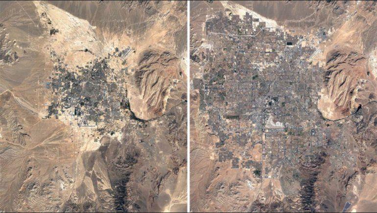 Google Earth te permite viajar en el tiempo y retroceder el reloj 37 años