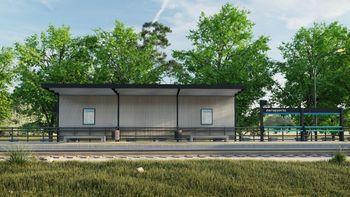 Comenzó la construcción de la parada del Tren del Valle en el aeropuerto