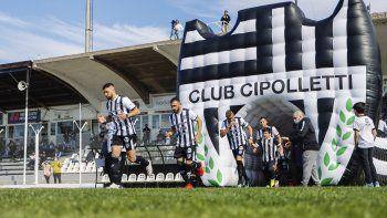 cipolletti quiere volver a ganar y consolidar la localia: hora y tv