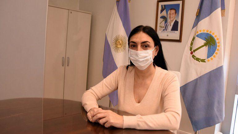La ministra de Salud, Andrea Peve, solicitó que se