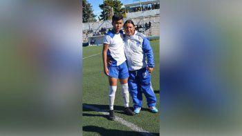 Dolor en el fútbol: murió de Covid horas después de llorar a su madre
