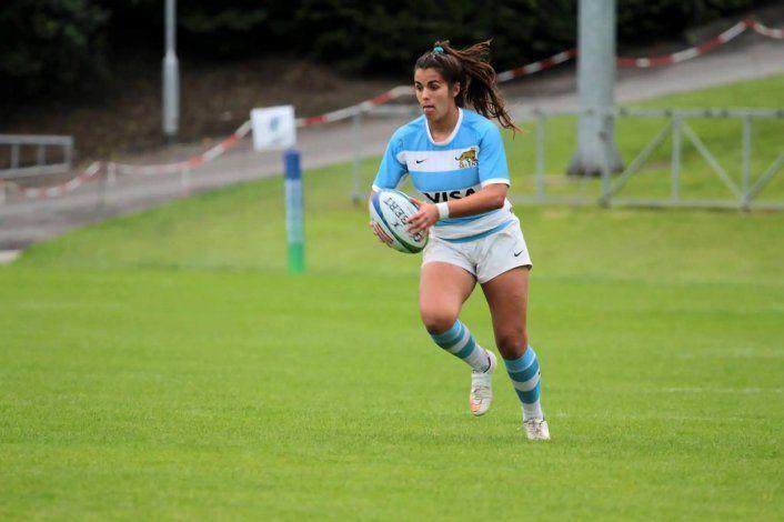Josefina Padellaro logró cinco medallas con la Selección Argentina de rugby seven.