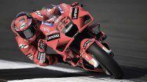 Bagnaia fue el más veloz de la clasificación del MotoGP en Aragón