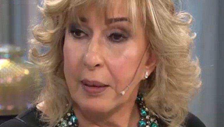Georgina se quebró al hablar de la muerte de su mamá